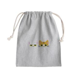 暗蔵喫茶Killer饅頭のぐらどり Mini Drawstring Bag