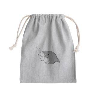 シンプルLittle shark Kinchaku