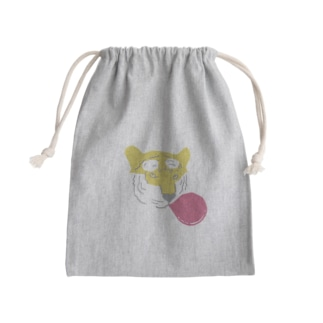 バブルガムタイガー Mini Drawstring Bag