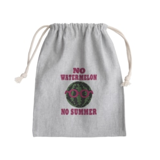 スイカくん Mini Drawstring Bag