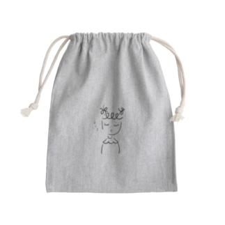 すやすや眠る女の子2 Mini Drawstring Bag
