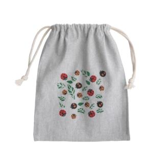 てんとう虫 Mini Drawstring Bag