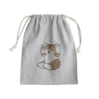 喜ぶ猫 Kinchaku