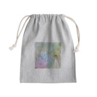 紫陽花と少女 Kinchaku