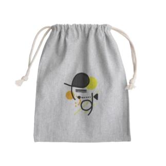ただのたす Mini Drawstring Bag
