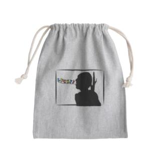 マイトガイのLUCKY(バック) Mini Drawstring Bag