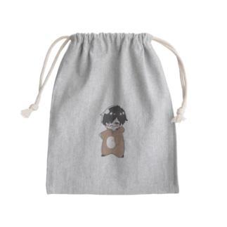 めんとすグッズ Mini Drawstring Bag