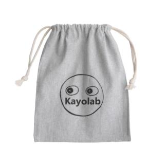 Kayolabくん Mini Drawstring Bag