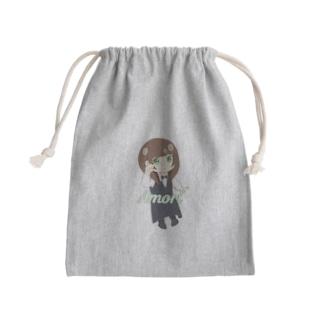 ブッシュドノエルあもり Mini Drawstring Bag
