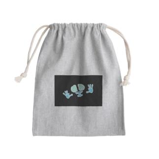 反転FG君 Mini Drawstring Bag