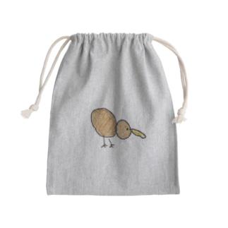 キウイ Mini Drawstring Bag