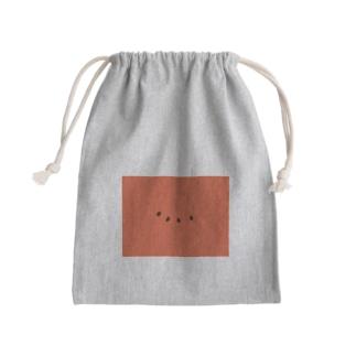 すいかコア特典(仮) Mini Drawstring Bag