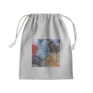 放てば手に満てり Mini Drawstring Bag