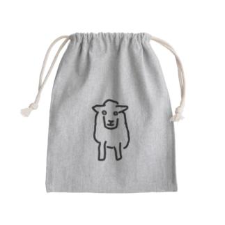 親ひつじ Mini Drawstring Bag