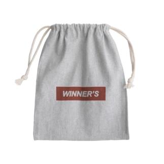 WINNER'S Mini Drawstring Bag