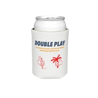 DOUBLE_PLAYのwork × play color Koozies