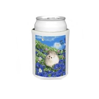青空とお花畑と猫 Koozies