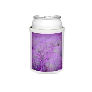むらむらな紫色のラベンダー Koozies