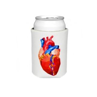 Glass Heart Koozies