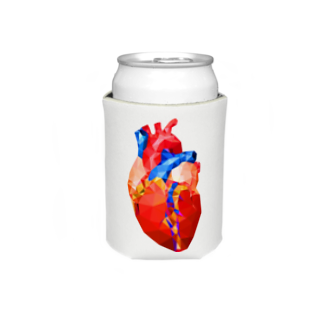 OFUNE's MarketのGlass Heart Koozies