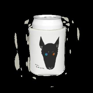 mya-mya=MIYA JUNKO's shop 02のodd-eyed dog Koozies