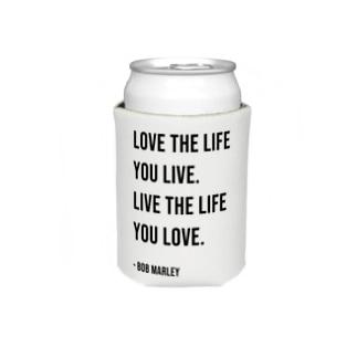 Hello BoB Marley `LOVE LIFE!!` Koozies