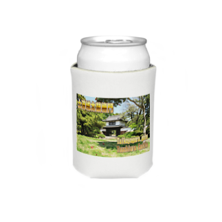 FUCHSGOLDの日本の城:土浦城 Japanese castle: Tsuchiura castle★Recommend for white base products only !!  Koozies