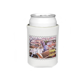 FUCHSGOLDのスペイン:グラナダ旧市街の夕景★白地の製品だけご利用ください!! Spain: Old area of Granada★Recommend for white base products only !! Koozies