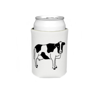 Aliviostaの牛が見てる ウシ 動物イラスト Koozies