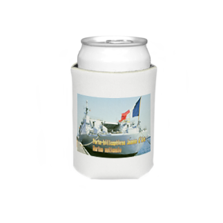 FUCHSGOLDのフランス海軍:ヘリ空母ジャンヌ・ダルク French Navy: Jeanne d'Arc (porte-hélicoptères) Koozies