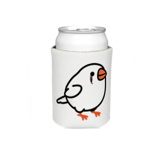 Cody the LovebirdのChubby Bird キンカチョウ Koozies