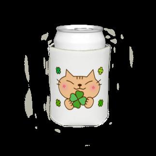 eigoyaのクローバーと茶トラ猫 Koozies