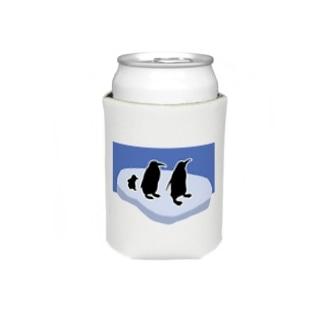 penguin(背景あり) Koozies