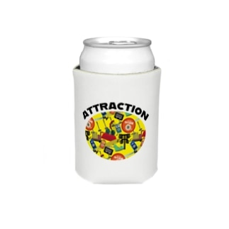 ATTRACTION ロゴ Koozies
