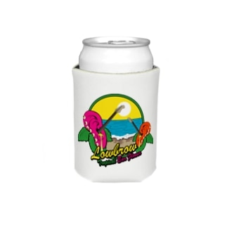 Lowbrow Tropical Ear Flower Koozies