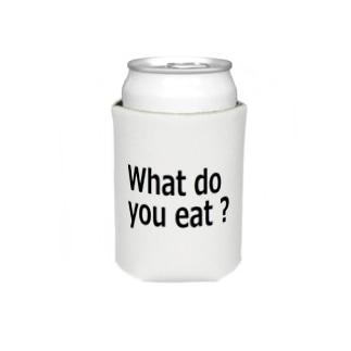 何食べる? What do you eat ? Koozies
