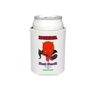 Red Devil君 Koozies