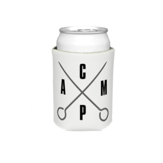 gem2020のGO Camp × ペグ クージー White Koozies