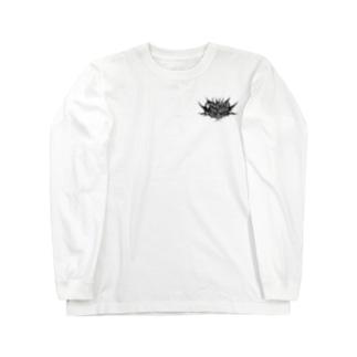 Skull Flower Long sleeve T-shirts