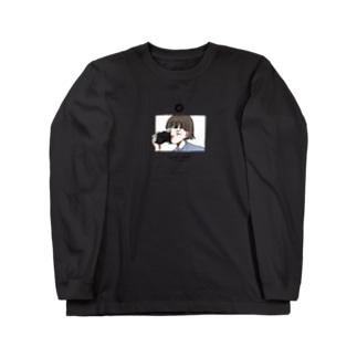 カメラ少女 Long sleeve T-shirts