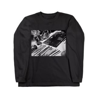 ライブペイント 画材 Long sleeve T-shirts