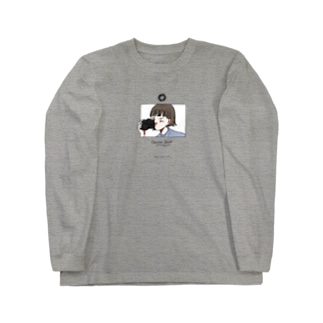カメラ少女 Long sleeve T-shirts