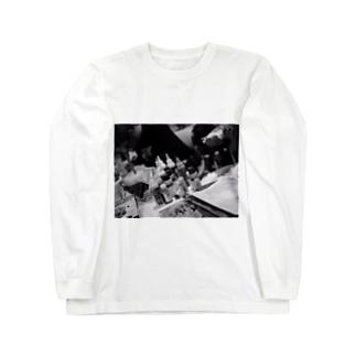 ライブペイント Long sleeve T-shirts