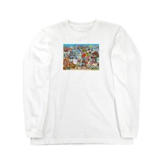 サンプル Long sleeve T-shirts