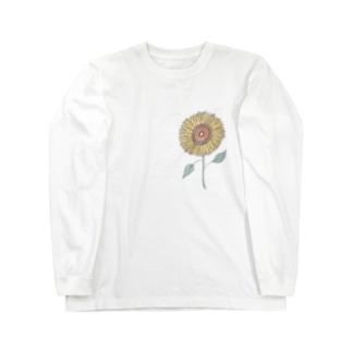胸に太陽を。 Long sleeve T-shirts