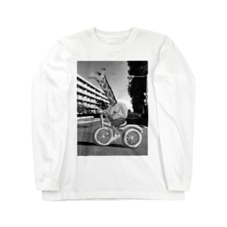 CHARINKO  KIRIN(モノクロver.) Long sleeve T-shirts