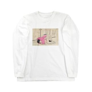 ちょっ Long sleeve T-shirts