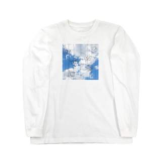 空に吊る① Long sleeve T-shirts