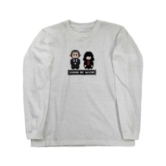 ドット絵ロンT Long Sleeve T-Shirt