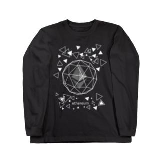 ethereum イーサリアム  ロングスリーブTシャツ